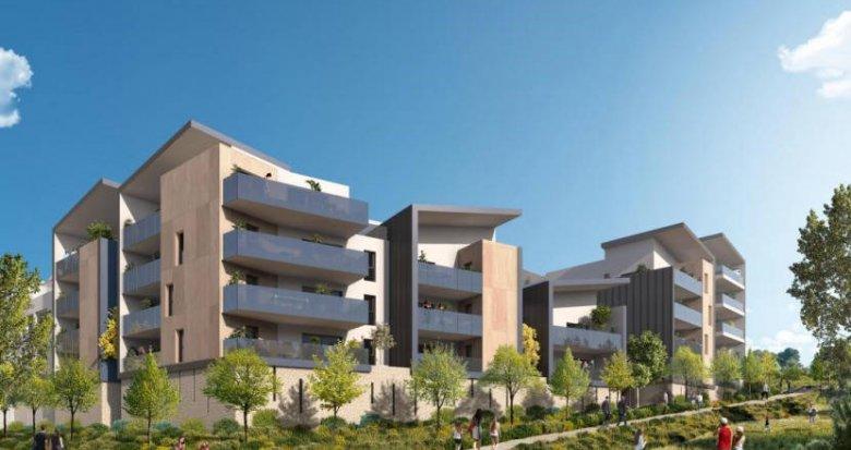 Achat / Vente appartement neuf Saint-Jean-de-Védas proche parc de la Peyrière (34430) - Réf. 6122