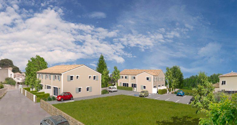 Achat / Vente appartement neuf Saussan à 20 minutes des plages (34570) - Réf. 5417