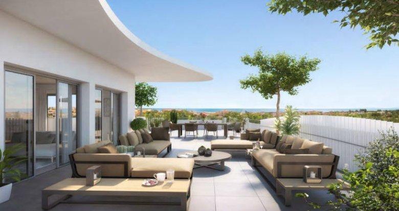 Achat / Vente appartement neuf Sérignan à 500 mètres de la plage (34410) - Réf. 5120