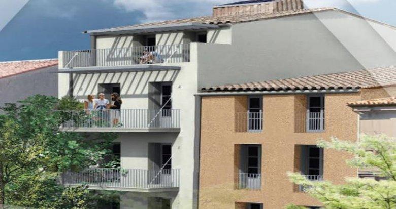 Achat / Vente appartement neuf Sète hyper centre proche des Halles (34200) - Réf. 4547