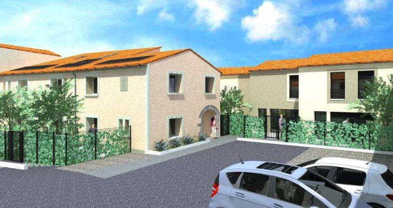 Achat / Vente appartement neuf Vendargues Maison de village (34740) - Réf. 6294